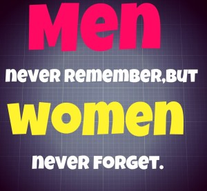 Women Never Forget